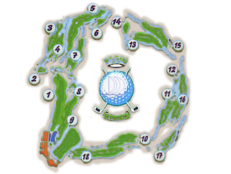 La Duquesa Golf Course map