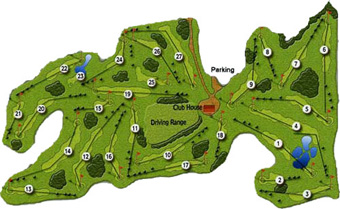 Batalha Club Golf Course map