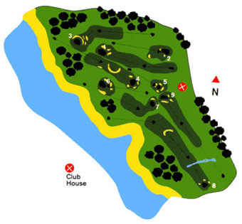 Club Miramar Golf Course Green Fees And Tee Times Oporto Portugal - Portugal golf map